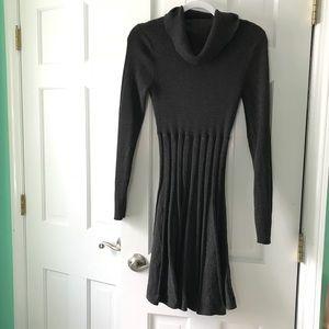 Calvin Klein pleated sweater dress